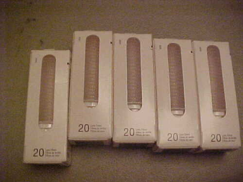 5x BRAUN ThermoScan LF 20 Lens Filters 20 Piece 100 Total SEALED BOXES