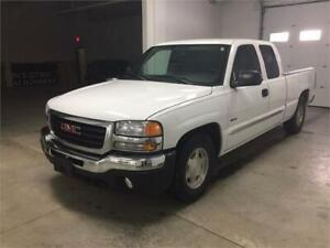 2005 GMC Sierra 1500 SLE HYBRID, EXT CAB, LOW KMS, BOSE STEREO