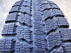 4 used 225/70/16 Toyo Observe GSi-5 snow tires (95% tread)