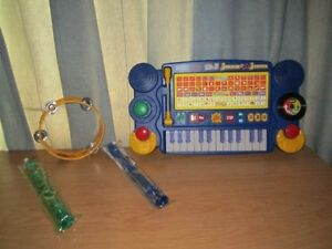 VTech Little Smart DJ Jazz 'n Jam Musical Piano, Drum & 2 Flutes