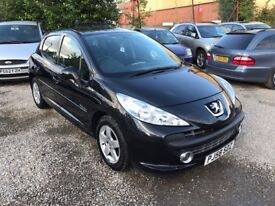 PEUGEOT 207 1.4 SPORT 5dr**ONE PREVIOUS OWNER**FULL SERVICE HISTORY**12 MONTHS MOT**DRIVES PERFECT**