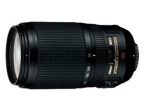Ojectif Nikon AF-S 70-300mm VR Zoom-Nikkor F/4.5-5.6G ED-IF