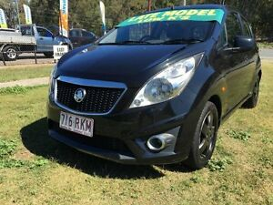 2011 Holden Barina TK MY11 Classic Black 5 Speed Manual Hatchback Clontarf Redcliffe Area Preview