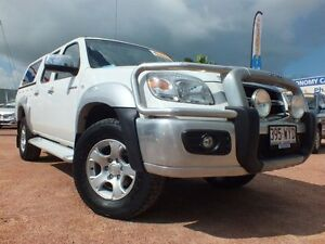 2009 Mazda BT-50 UNY0E4 DX White 5 Speed Manual Utility Rosslea Townsville City Preview
