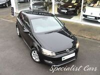 VOLKSWAGEN POLO 1.4 MATCH 5d 83 BHP WATCH FULL HD VIDEO OF THIS CA (black) 2013