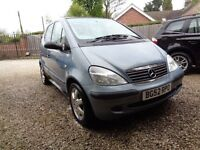 MERC A CLASS A160 5 DOOR MANUAL SOLD COMPLETE FOR BREAKING .