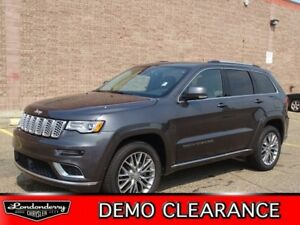 2018 Jeep Grand Cherokee 4X4 SUMMIT V6             HTD/COOL NATU
