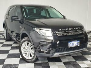 2018 Land Rover Discovery Sport L550 18MY TD4 132kW SE Black 9 Speed Sports Automatic Wagon Victoria Park Victoria Park Area Preview