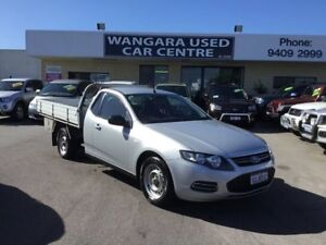 2012 Ford Falcon FG Upgrade R6 (LPi) Silver 6 Speed Automatic Cab Chassis