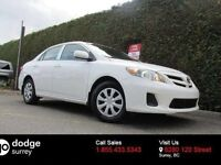 2013 Toyota Corolla CE, SUNROOF, HEATED FRONT SEATS, NO EXTRA FE