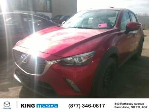 2016 Mazda CX-3 GS AWD..One Owner..Auto..Moonroof..Heated Sea...