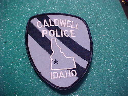 CALDWELL IDAHO POLICE PATCH SHOULDER SIZE UNUSED