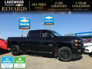 2018 Chevrolet Silverado 2500HD LTZ Crew 4x4 (Nav, Heated/Cooled