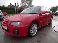 MG ZR+ 1.4 105~54/2004~5 DOOR HATCHBACK~5 SPEED MANUAL~STUNNING DEEP RED