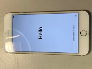 iPhone 6 plus  64GB  White front / Gold back - unlocked