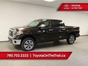 2019 Toyota Tundra CREWMAX 1794 EDITION 5.7L 4X4; LEATHER, SUNRO