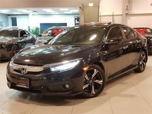 2016 Honda Civic Sedan TOURING-NAVIGATION-LEATHER-SURNOOF-ONLY 7