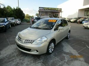 2010 Nissan Tiida C11 MY07 ST Gold 4 Speed Automatic Sedan Coorparoo Brisbane South East Preview