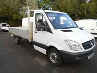Mercedes-Benz Sprinter 313 CDI LWB 3.5T DROPSIDE DIESEL MANUAL WHITE (2014)