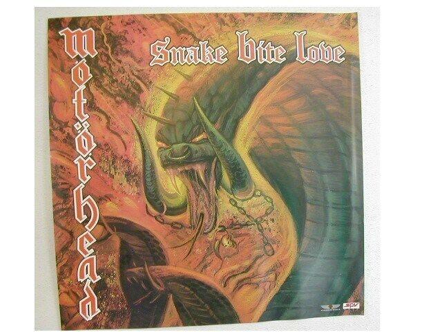 Motorhead Poster Promo Snake Bite Lobe