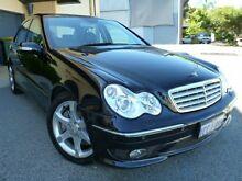 2005 Mercedes-Benz C200 Kompressor W203 Sport Edition Black 5 Speed Automatic Sedan Willagee Melville Area Preview