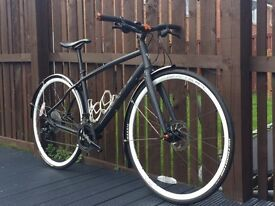 Whyte Stirling 2015 Hybrid flat bar road bike