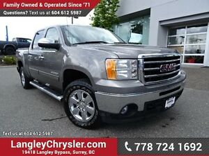 2012 GMC Sierra 1500 SLE W/ 4X4, TOW PACKAGE & BLUETOOTH