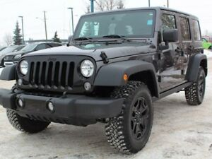 2016 Jeep Wrangler Unlimited ONEOWNER**NO ACCIDENTS**WILLYS EDIT