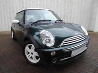 Mini Cooper 1.6 ....Gorgeous in British Racing Green. Only 1 Previous Keeper, Low Miles for Year