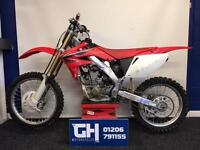 2008 HONDA CRF250R | STANDARD CONDITION | GOOD CONDITION FOR ITS AGE.