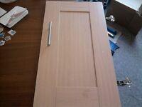 Beech Wood Cupboard Doors
