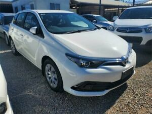 2018 Toyota Corolla ZRE182R Ascent S-CVT Glacier White 7 Speed Constant Variable Hatchback Park Holme Marion Area Preview