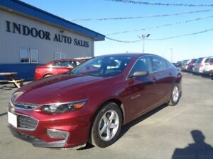 2016 Chevrolet Malibu LS 1.5L 4CYL 6SPD AUTO ONLY 24556 KMS