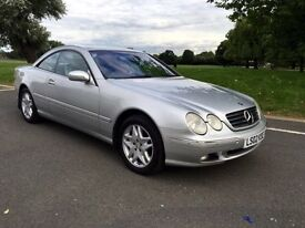 Mercedes - Benz CL 5.0 CL500 V8 2dr Coupe Auto Long MOT FSH 87k