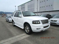 FRESH IMPORT FORD EXPEDITION 4WD AUTOMATIC LHD 8 SEATS WHITE NOT EXPLORER