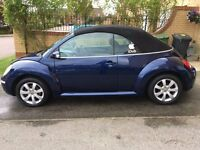Much loved Beetle Cab 1.8T petrol for sale.