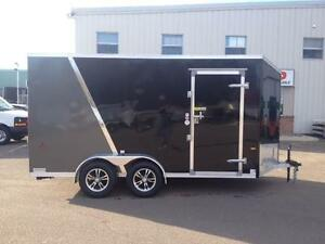 New 2016 Amera-Lite 7' x 14' Aluminum Enclosed Trailer