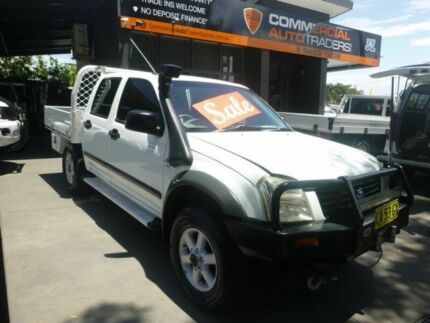 2006 Holden Rodeo RA MY06 LX Crew Cab White 5 Speed Manual Utility Merrylands Parramatta Area Preview