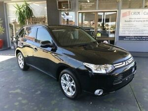 2013 Mitsubishi Outlander ZJ MY13 LS Black 6 Speed Continuous Variable Wagon Hamilton Newcastle Area Preview