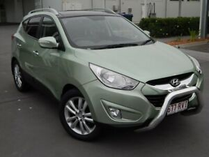 2011 Hyundai ix35 LM MY12 Highlander AWD Green 6 Speed Sports Automatic Wagon North Lakes Pine Rivers Area Preview