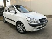 2011 Hyundai Getz TB SX Hatchback 3dr Man 5sp 1.6i [MY09] White Manual Hatchback Oxley Park Penrith Area Preview