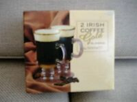 IRISH COFFEE GOLD GLASSES