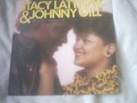 Vinyl LP Perfect Combination – Stacy Lattisaw & Johnny Gill Cotillion 901136 1 Stereo