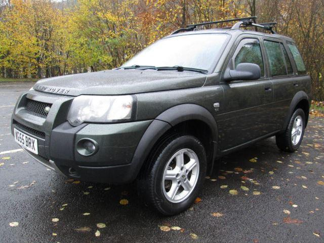 Land Rover Freelander TD4 SE Station Wagon Estate DIESEL MANUAL 2005/55
