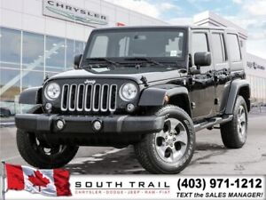 2018 Jeep Wrangler JK Unlimited Sahara, Nav, ONLY $121 weekly!