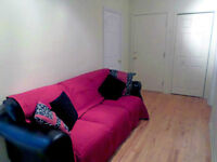One furnished room for rent in Montreal close to Côte-Vertu 420$