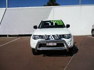 2012 Mitsubishi Triton MN MY12 GL-R Double Cab White 4 Speed Automatic Utility Toowoomba Toowoomba City Preview