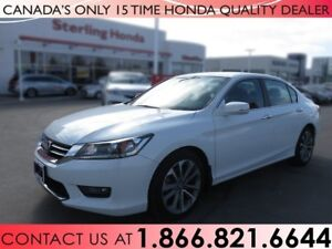 2014 Honda Accord SPORT   1 OWNER   NO ACCIDENTS   ALL WEATHER M