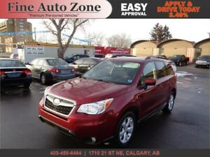 2014 SUBARU FORESTER TOURING B.CAM SUNROOF HEATED POWER SEATS