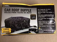 car roof rack weather resistant BAG